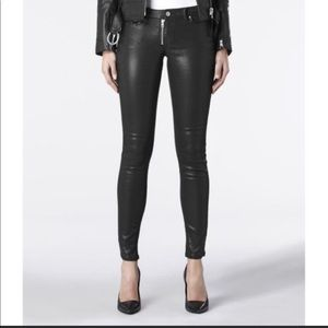 All Saints Ashby Skinny Coated Jeans